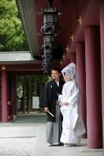 結婚式のポートレート01