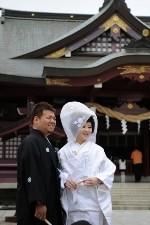 結婚式のポートレート02
