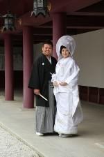 結婚式のポートレート03